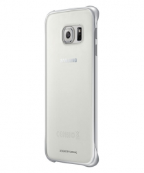 Samsung Clear Cover Samsung Galaxy S6 Edge Zilver 4