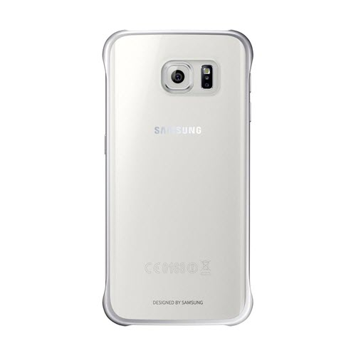 Samsung Clear Cover Samsung Galaxy S6 Edge Zilver
