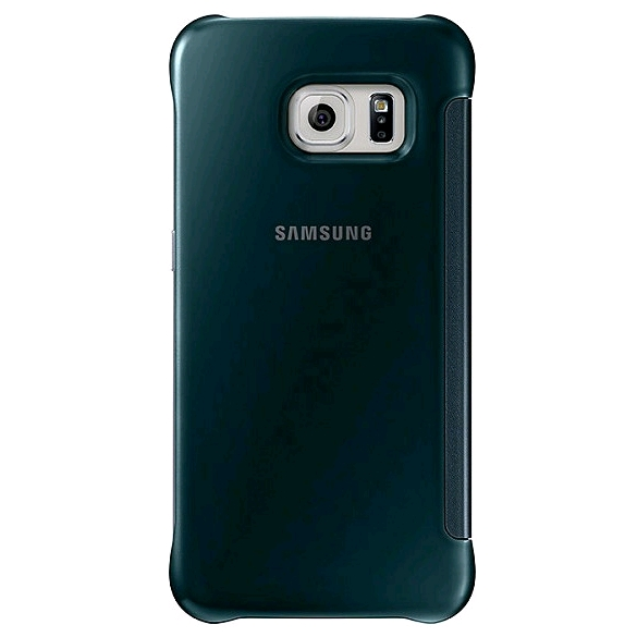 Samsung Clear View Cover voor Samsung Galaxy S6 Edge groen 2