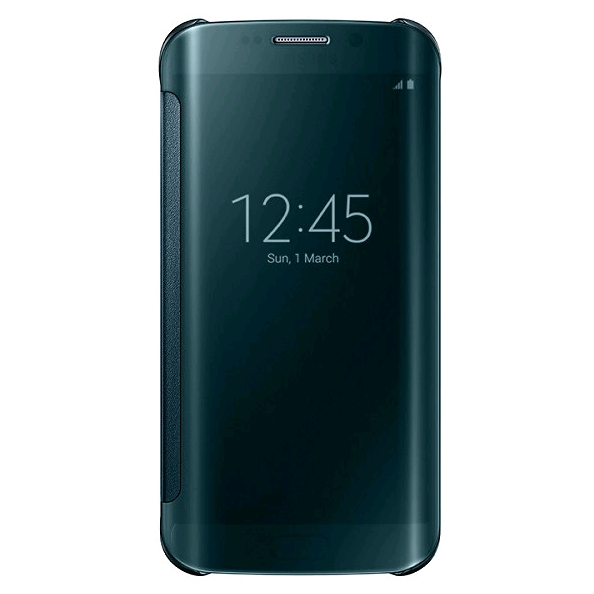 Samsung Clear View Cover voor Samsung Galaxy S6 Edge groen
