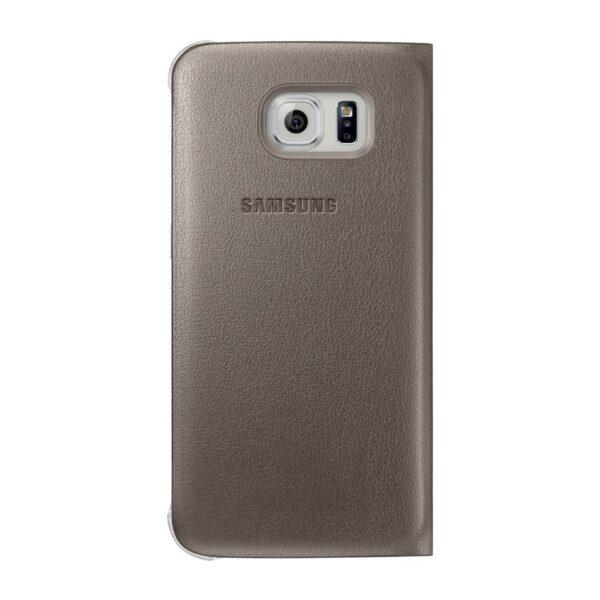 Samsung Flip Wallet Galaxy S6 edge Gold 2