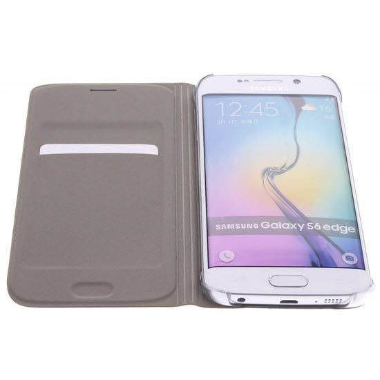 Samsung Flip Wallet Galaxy S6 edge Gold 3