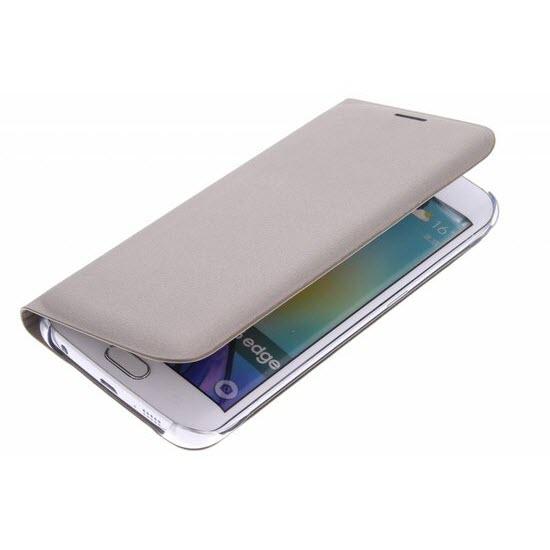 Samsung Flip Wallet Galaxy S6 edge Gold 5