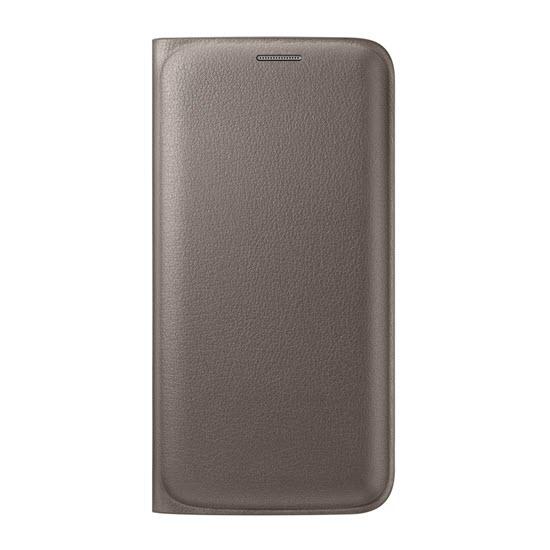 Samsung Flip Wallet Galaxy S6 edge Gold