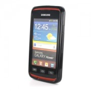 Samsung S5690 Galaxy Xcover silicon Frosted Black 2