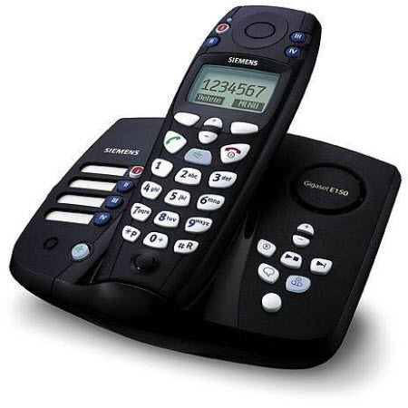Siemens Gigaset E150 Dect seniorentelefoon