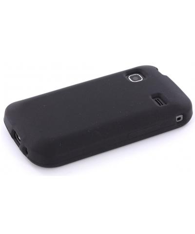 Siliconen Case Samsung S5660 Galaxy Gio – Zwart