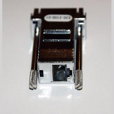 Sun Oracle Adapter 530-3100-01 DB9 to RJ45 Serial Port 2