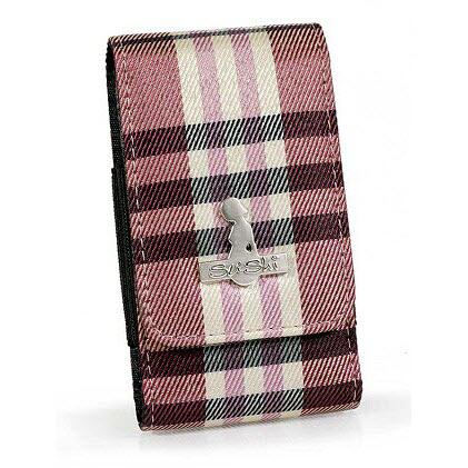 Sushi telefoonhoes pink stripes