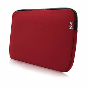 Vax Barcelona 16 inch laptopsleeve Pedrables rood