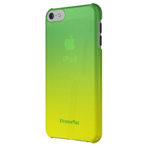 XtremeMac Microshield Fade Case voor iPod Touch 5G groengeel