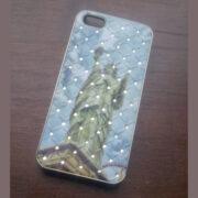 iPhone 5 cover Statue of Liberty met diamant