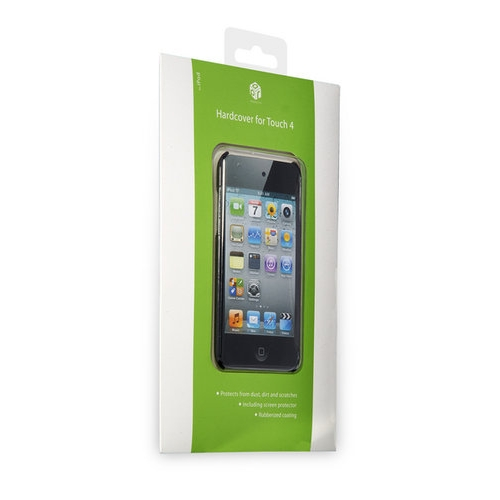 APR Hardbackcover voor iPod touch 4 zwart 2