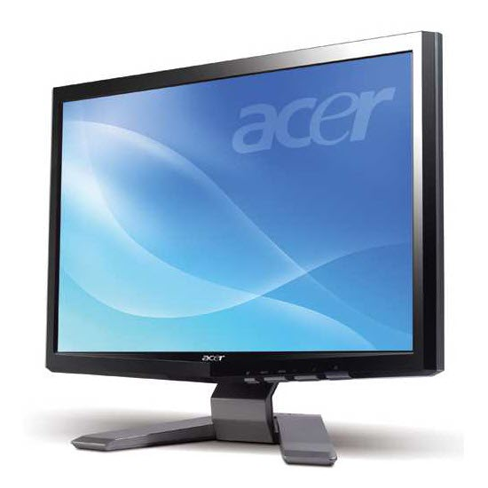 Acer P191w 19 Inch Widescreen Lcd Monitor Mkh Electronics