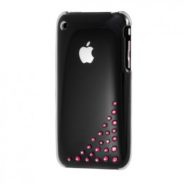 Bling My Thing iPhone 3GS 3G Hard Case – Fuchsia