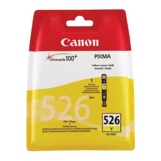 Canon CLI-526Y geel 9 ml inktcartridge (origineel)