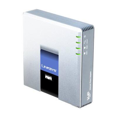 Cisco Linksys PAP2T-eu PAP2T VoIP telefoon adapter nieuw