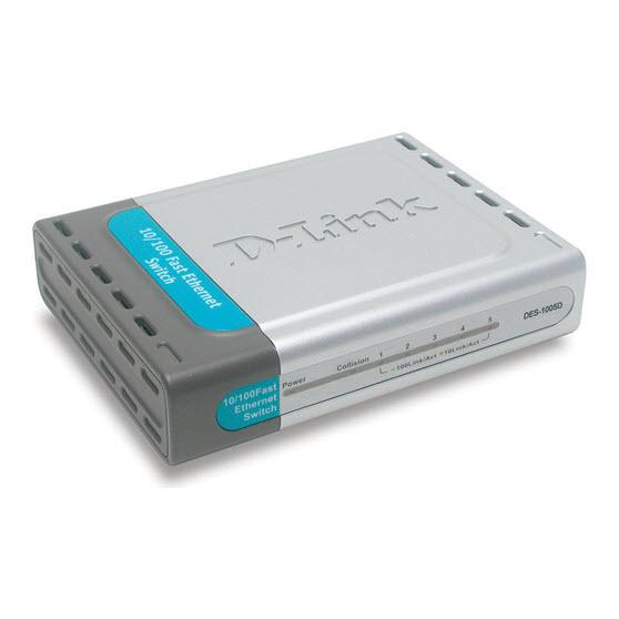 D-Link DES-1005D switch
