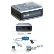 D-Link DP-301U 10 100TX 1-USB Port Print Server 2
