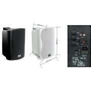 DAP PRA-62 actieve fullrange luidsprekerset wit 2