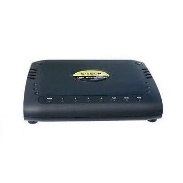 E TECH ADRT04 ADSL Modemrouter