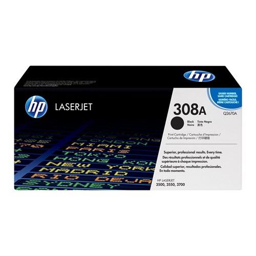 HP 308A (Q2670A) toner zwart (origineel)