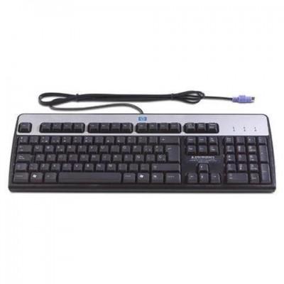 HP Compaq 382641-B31 KB-0316 PS2 toetsenbord zwart