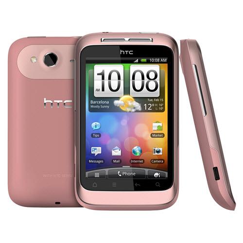 HTC Wildfire S smartphone roze 2