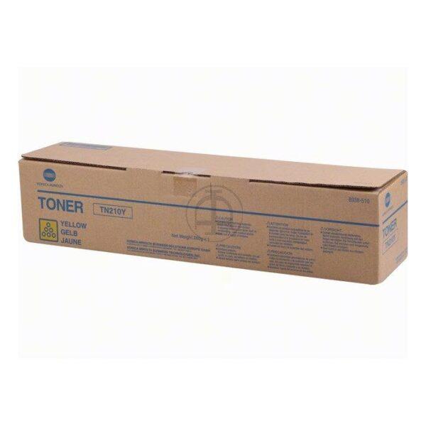Minolta TN-210Y (8938-510) toner geel (origineel)