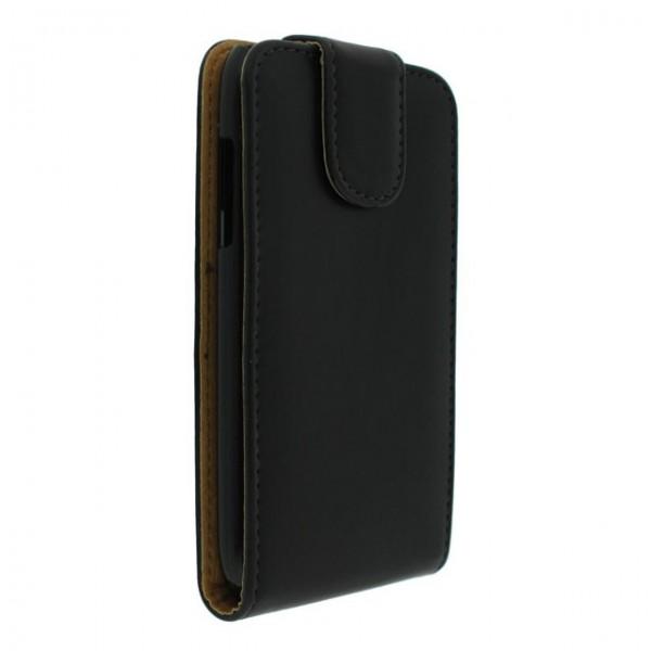 Mjoy Flipcase hoesje Samsung Galaxy Core i8260 zwart