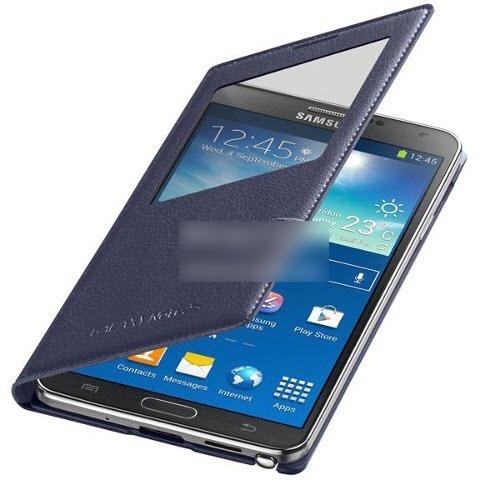 Mjoy Smart Cover For Samsung N9005 Galaxy Note 3 dark blue
