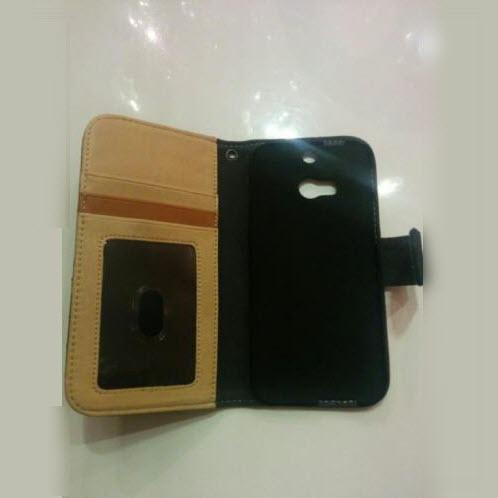 Mjoy Wallet Case Denim for HTC One M8 2