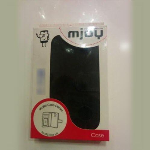 Mjoy Wallet Case Denim for HTC One M8 4