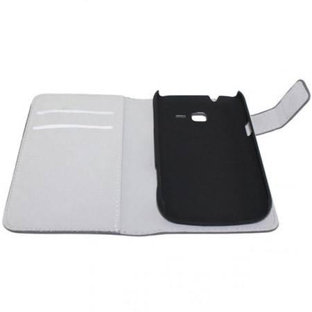 Mjoy Wallet Case For Samsung N9005 Galaxy Note 3 Black 2