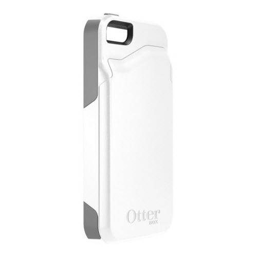 Otterbox Commuter Wallet Case Apple iPhone 55S WhiteGrey 2