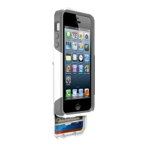 Otterbox Commuter Wallet Case Apple iPhone 55S WhiteGrey 3