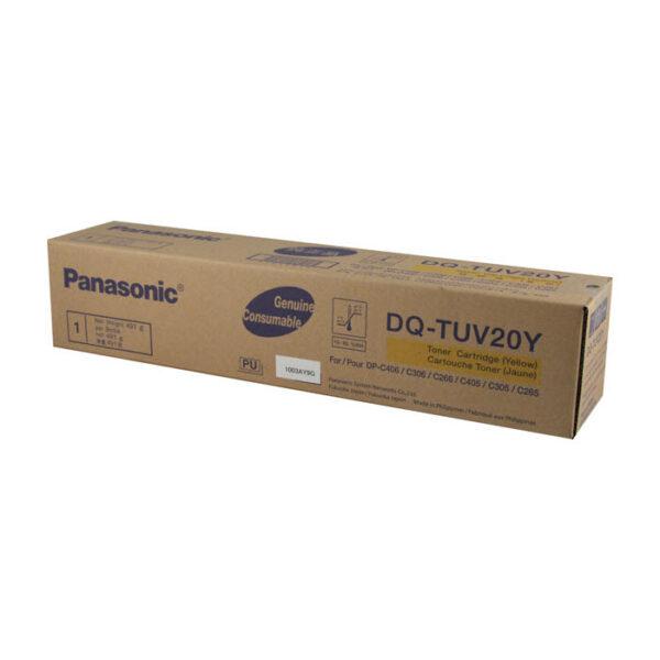 Panasonic DQ-TUV20Y toner geel (origineel)