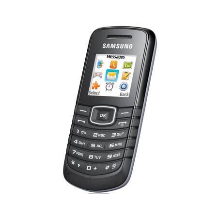Samsung GT-E1080w zwart GSM
