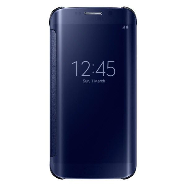 Samsung Galaxy S6 Edge Clear View Flip Origineel Zwart