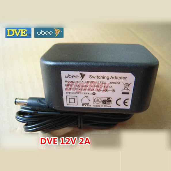 UBEE DVE DSA-24PFD-15 FEU 12V 2A 24W adapter
