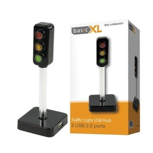 BasicXL BXL-USBGAD7 Verkeerslicht USB HUB