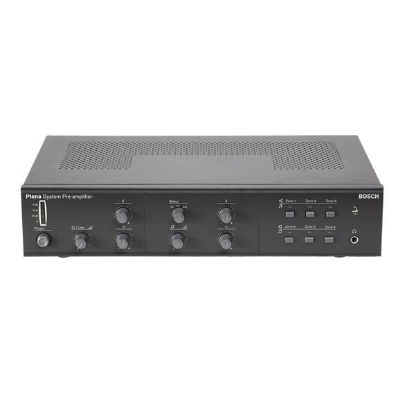 Bosch LBB192510 Plena System 6 Zone Pre-amplifier