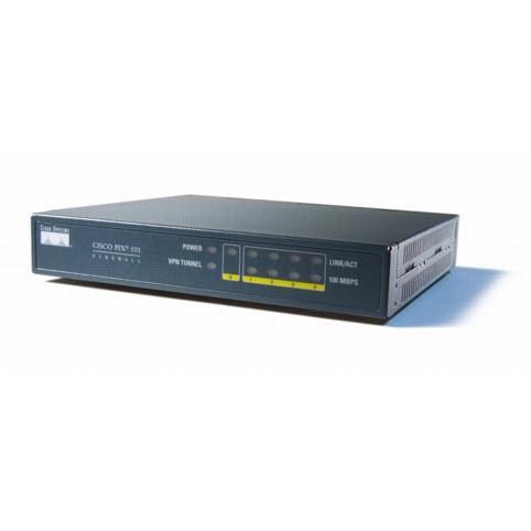 Cisco Pix 501 Firewall met programmeer kabel