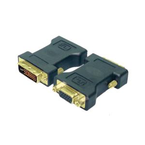 LogiLink® DVI Adapter DVI-I male – VGA DSUB female