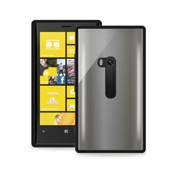 Nokia lumia 920 puro snap-on cover – clear black 2