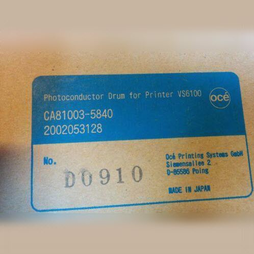 Oce Photoconductor Drum voor VS6100 CA81003-5840 2002053128