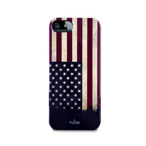 Puro iPhone 5 5s Flag Cover USA