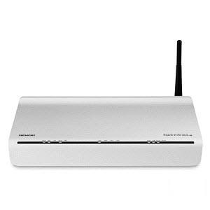 Siemens Gigaset SX762 WLAN dsl router