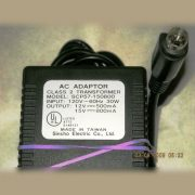 Sincho scp57-150800 ac adapter