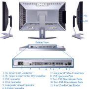 Dell UltraSharp 2407WFP 24 inch monitor 2